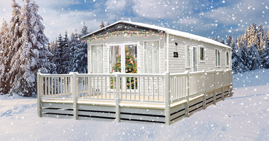 Holiday home at Christmas
