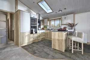 ABI holiday home Harrogate kitchen