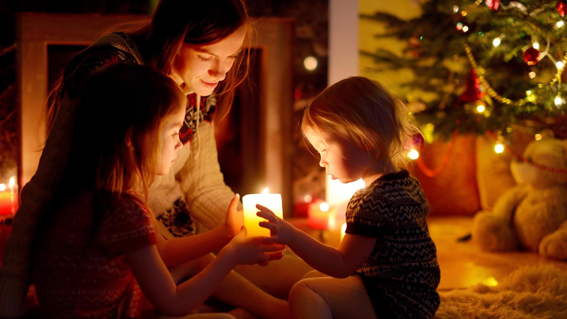 Family Christmas celebrations